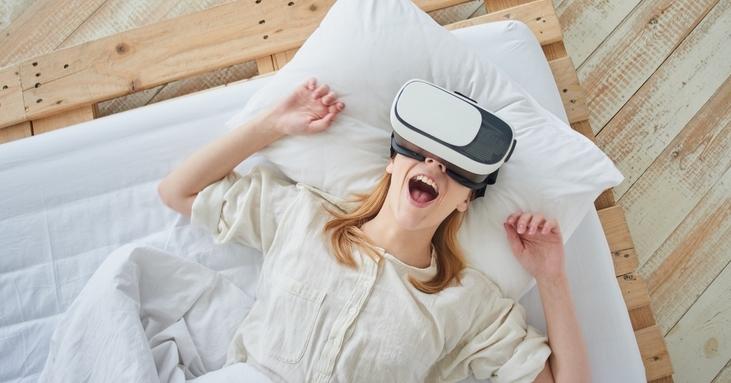 virtual reality girl orgasm